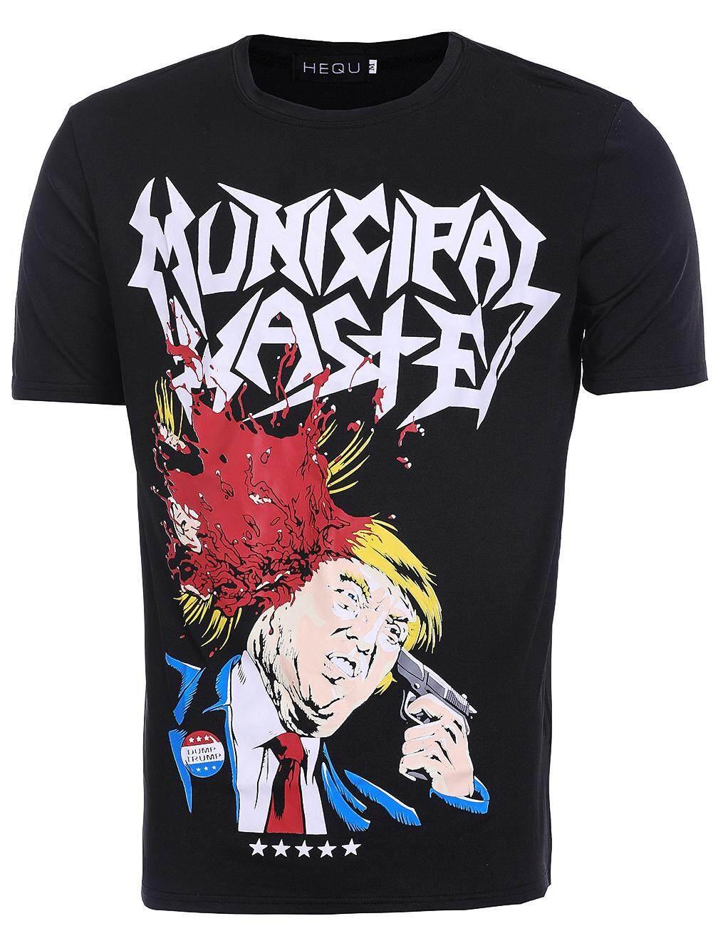 Blacklabel Kaos Hitam BL KURT COBAIN 05 T-Shirt Rock Star Metal Band Gothic -