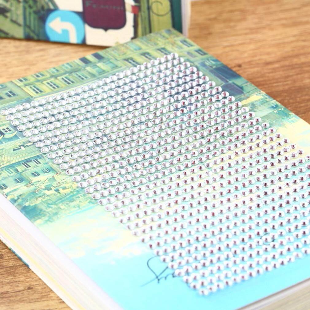 Chunnuan 3 Mm Mempesona Resin Permata Imitasi Mobil Ponsel PC Stiker Dekorasi-Internasional