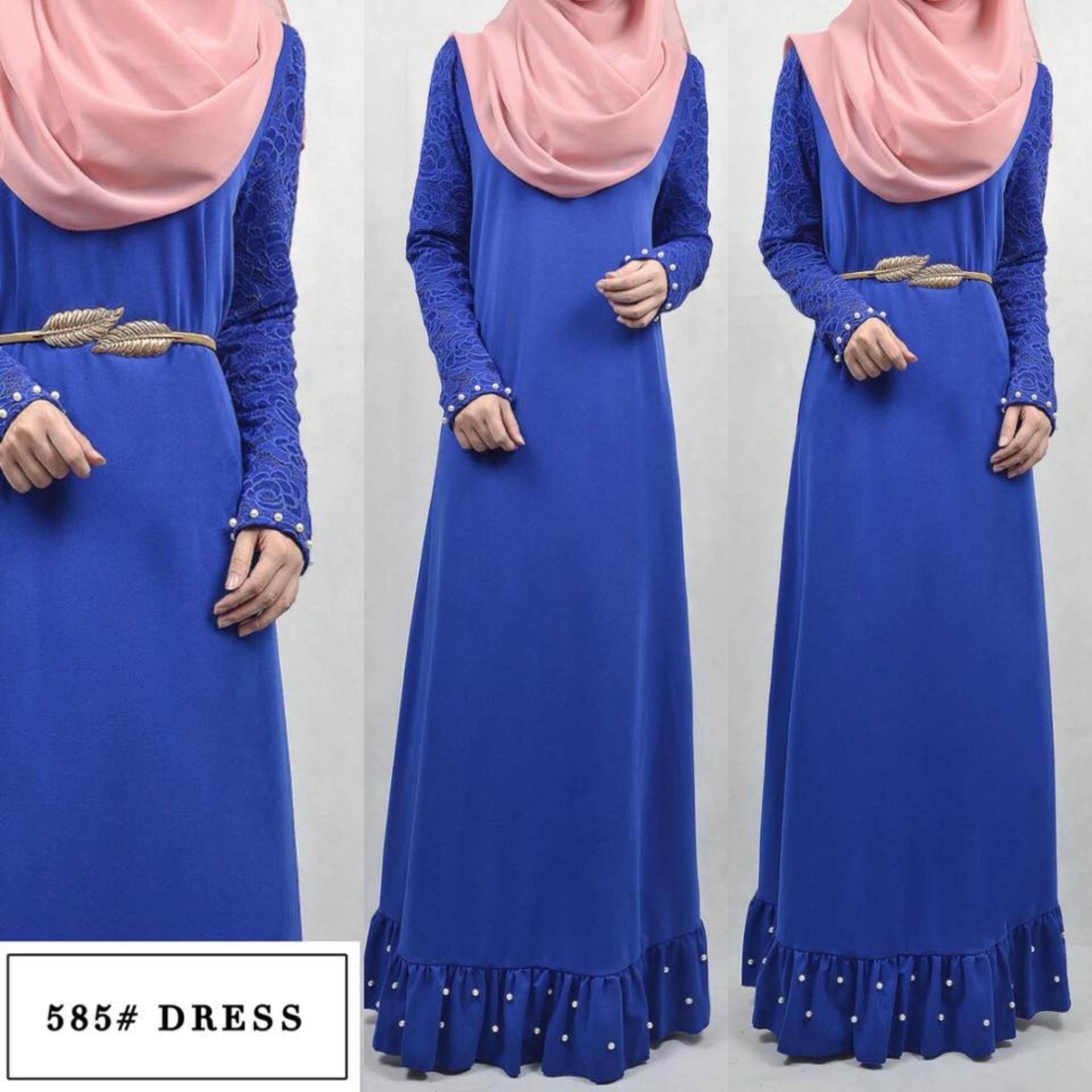 Sell Jubah Dress Cheapest Best Quality My Store Anneyep Printed Flowers Kaftan Muslim Maxi Myr 53