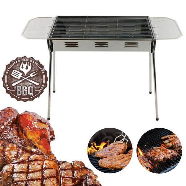 Hza 8805 Portable Bbq Stainless Steel Oven Grilling Mesh Barbecue Grill
