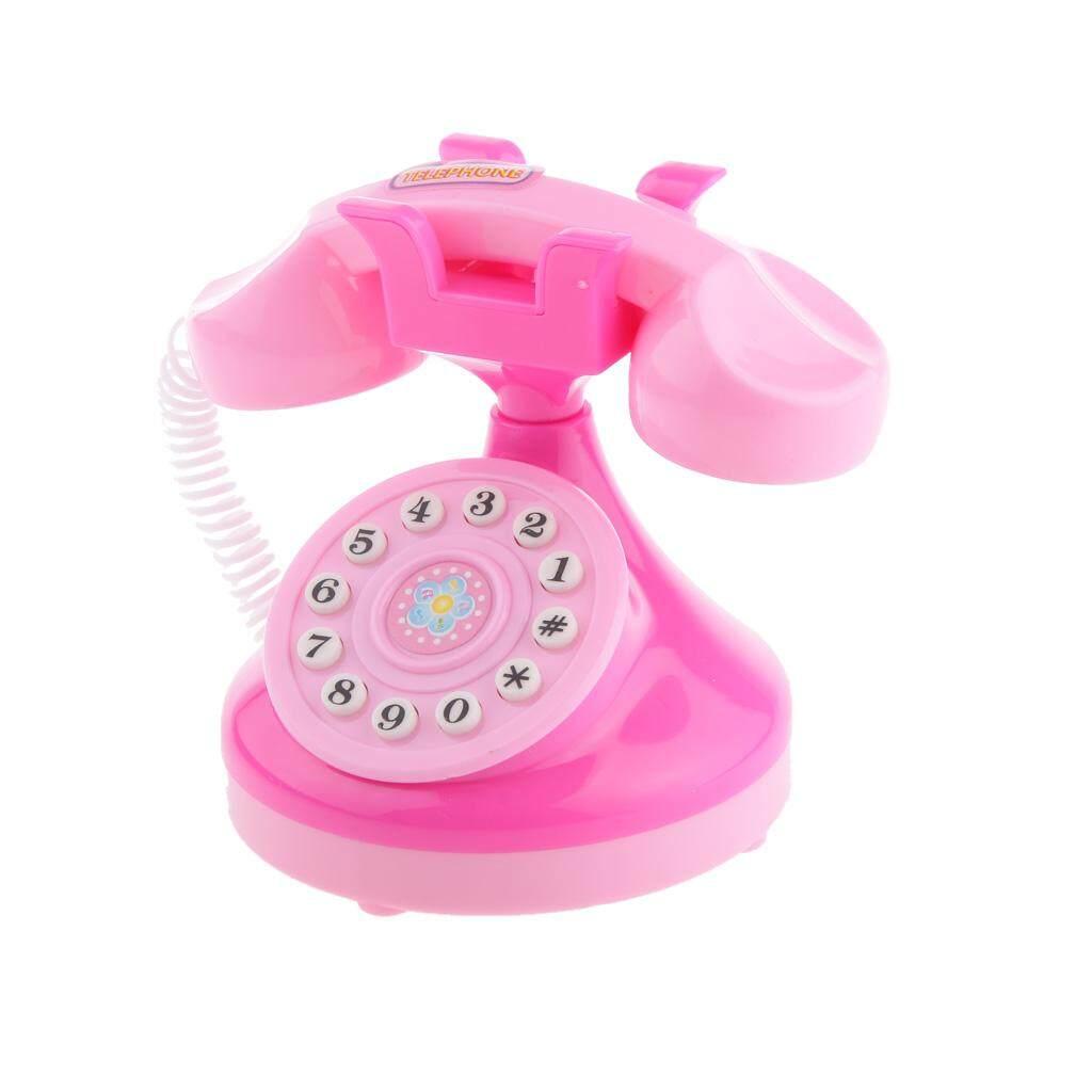 Hình ảnh MagiDeal Play House Mini Telephone Children Kids Toys