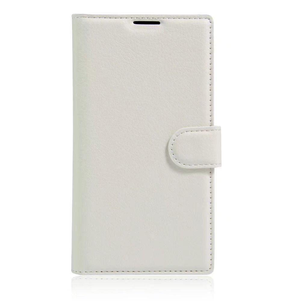 Leather Flip Cover Wallet Card Holder Case For Alcatel POP S7 / OT7045 - intl