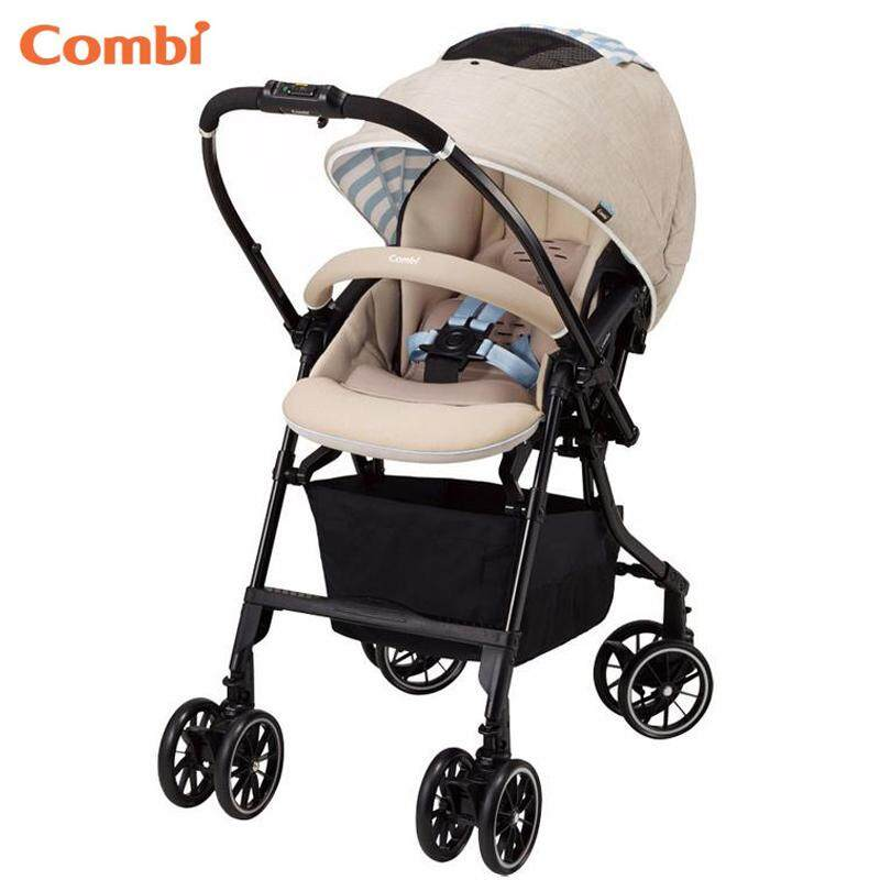 Combi Biege Mechacal Handy Auto 4cas Baby Stroller Egg Shock The Lightest Model