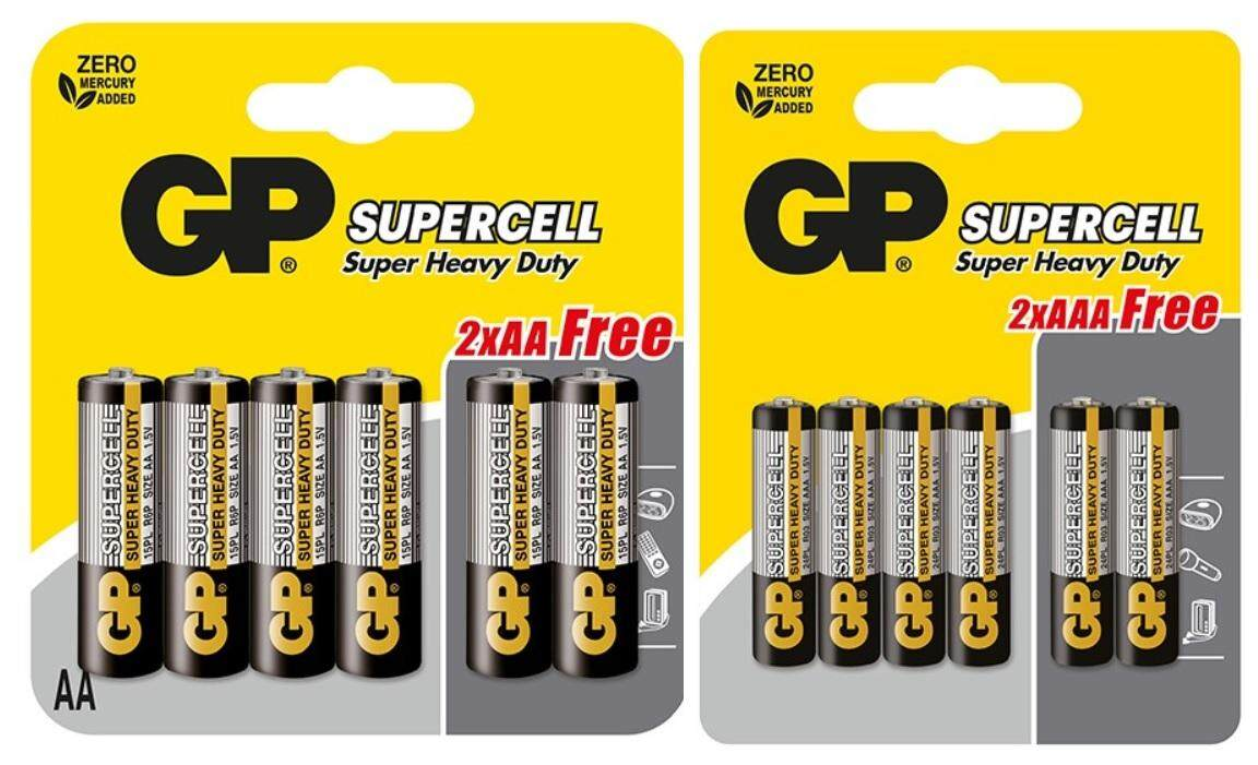 GP BATTERIES SUPERCELL SUPE...