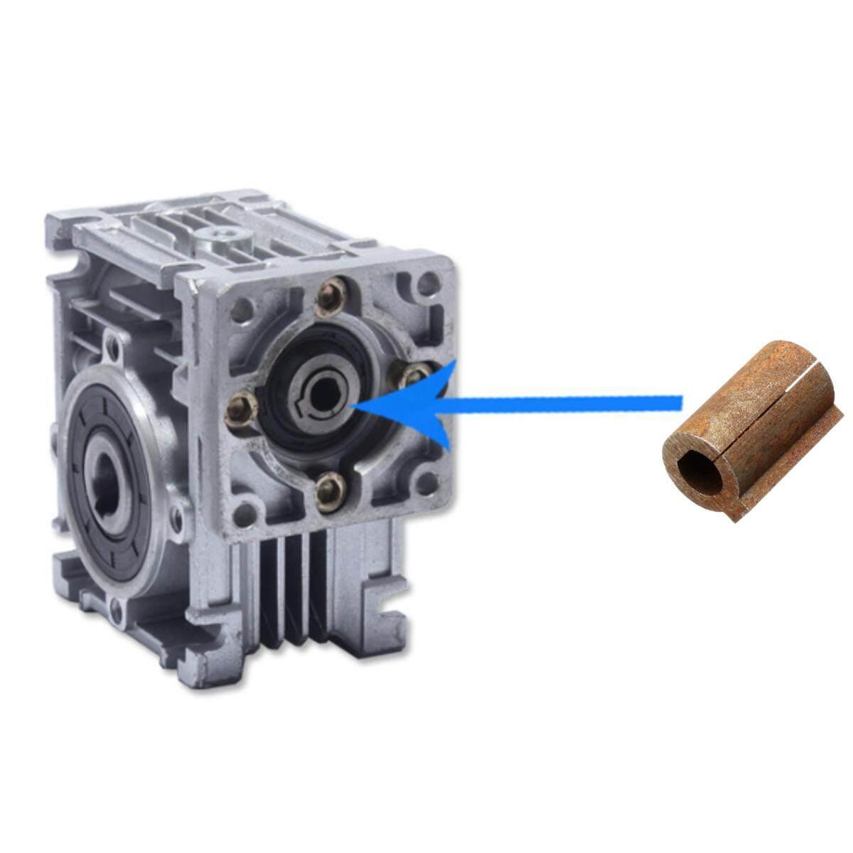 1 PC Reduktor Roda Gigi Cacing Lengan Poros 8 Mm Poros Motor Steper 11 Mm Bor