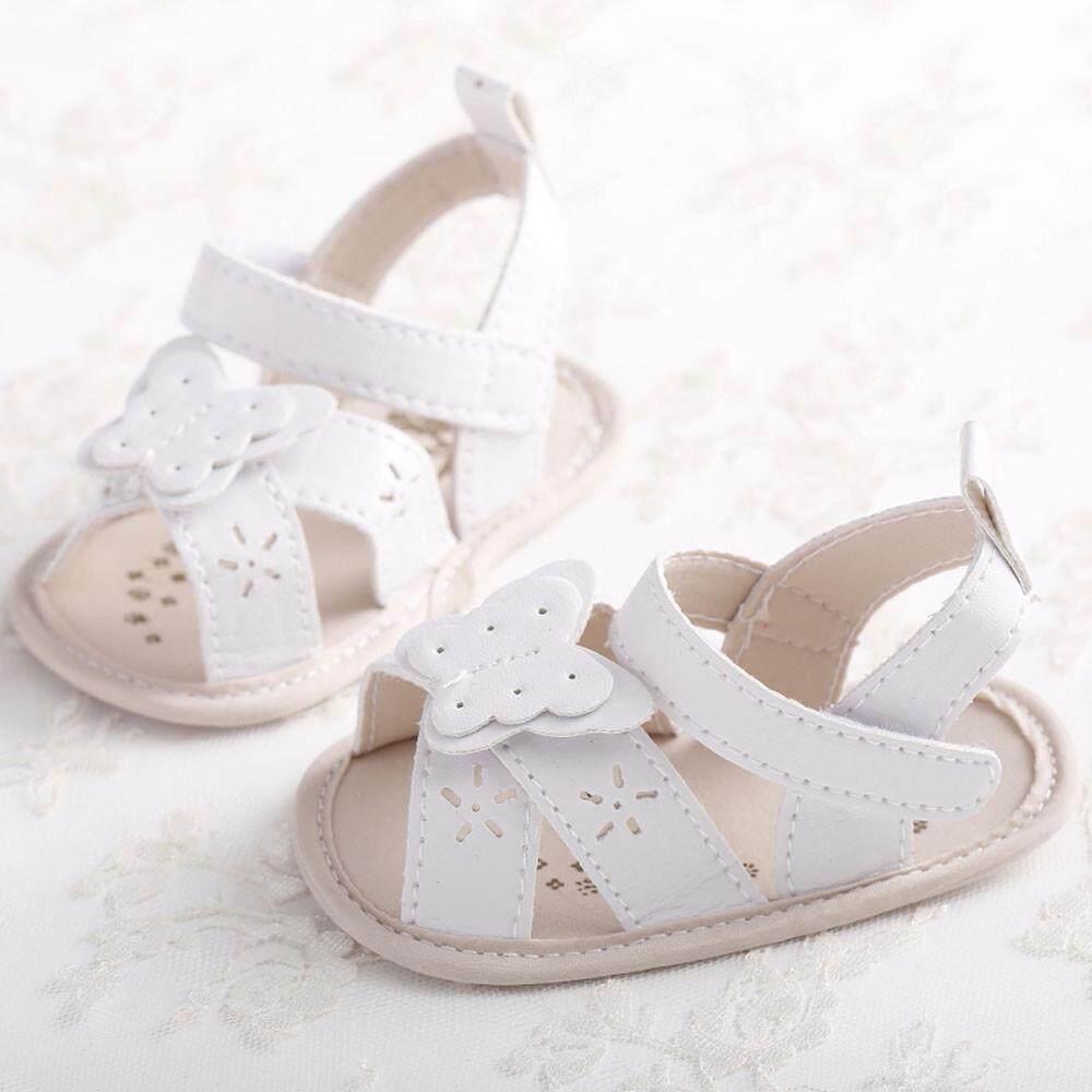 Radocie Bayi Sandal Kupu-Kupu Balita Putri Pertama Walkers Anak Perempuan Anak Sepatu Wh/1 By Radocie.