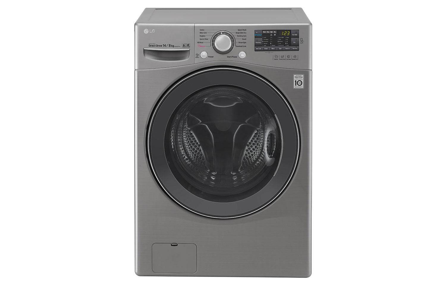 LG FRONT LOADING WASHING MACHINE F2514DTGE
