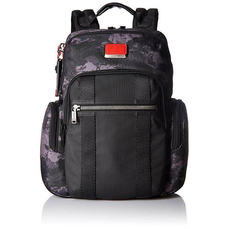 Tumi Men's Alpha Bravo Nellis Backpack , Charcoal Restoration