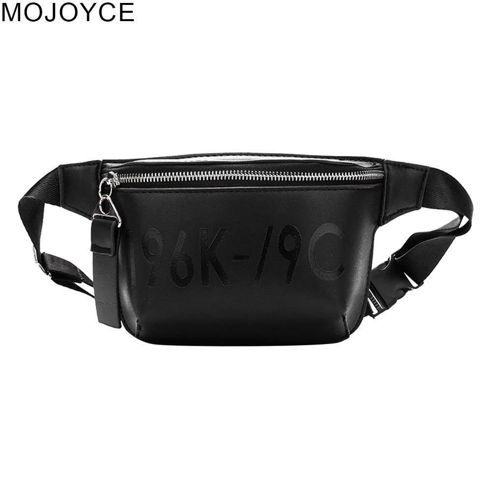Mojoyce Leather Waist Fanny Pack Women Belt Shoulder Messenger Chest Handbags Pouch By Mojoyce Official Store.