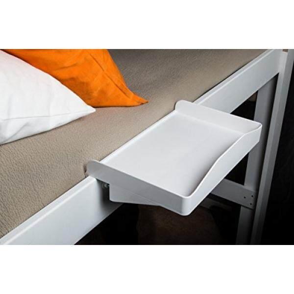 Bunk Buddy Bedside Shelf - White