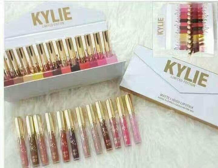 Kylie Liquid Matte Lipstick Limited Edition (12colour)  4.jpg