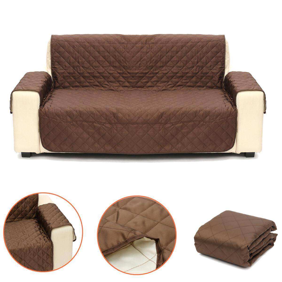 Quilted Reversible Microfiber Pet Dog Cat Couch Sofa Furniture Protector Cover