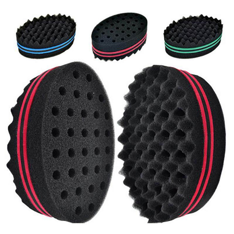Home Appliances Home Appliance Parts Fashion Style Double Sided Barber Hair Brush Sponge Dreads Locking Twist Coil Afro Curl Wave