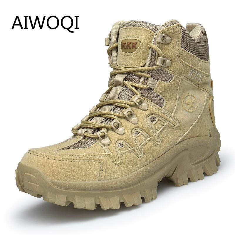 Men Boots Military Tactical Boots Hiking Shoes Mens Outdoor Boots, Cowboy Outdoors Men Boots Military Boots Sljj20180804-5 By Iswell.