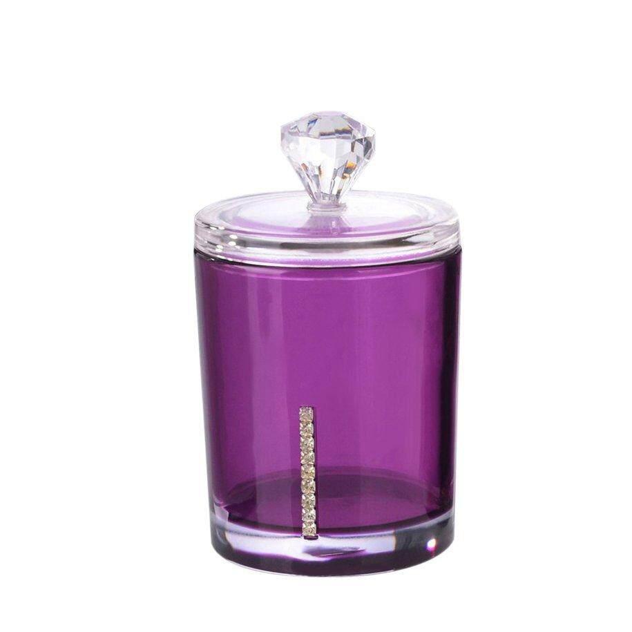 Review Aiweiyi Akrilik Perhiasan Kotak Penyimpanan Anting Display Source · CFB Akrilik Bening Transparan Rak Penyimpanan Kapas Kotak Tongkat Case Wadah