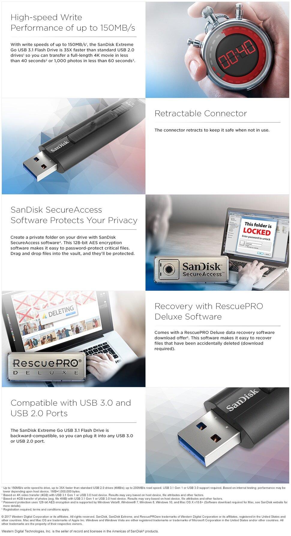 Sandisk Extreme Go 128gb 200mb S Usb 31 Flash Drive Cz800 Ultra 16gb Cz48 Disk 30 Original Https My Live 02slaticnet