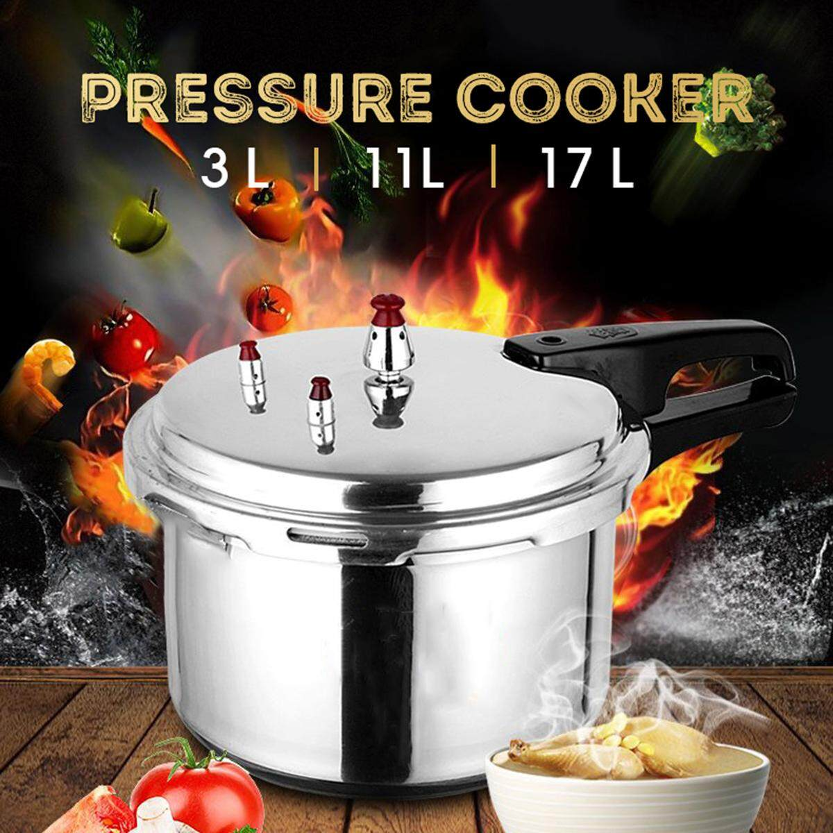 28cm Pressure Cooker Commercial Grade 304 Stainless Steel Pressure Cooker By Freebang.