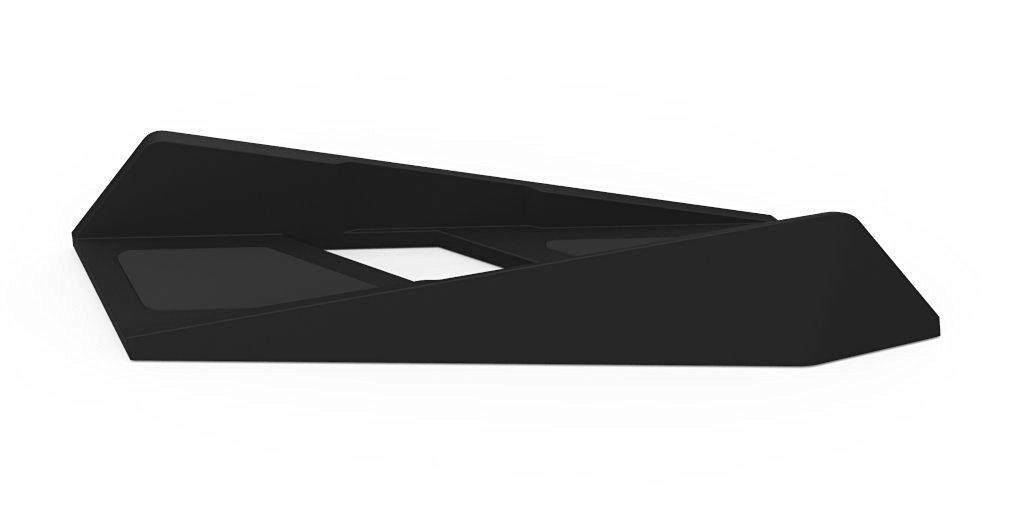 Honghui Non-slip Vertikal Ramping Penyangga untuk PS4 Konsol (Hitam)-Internasional