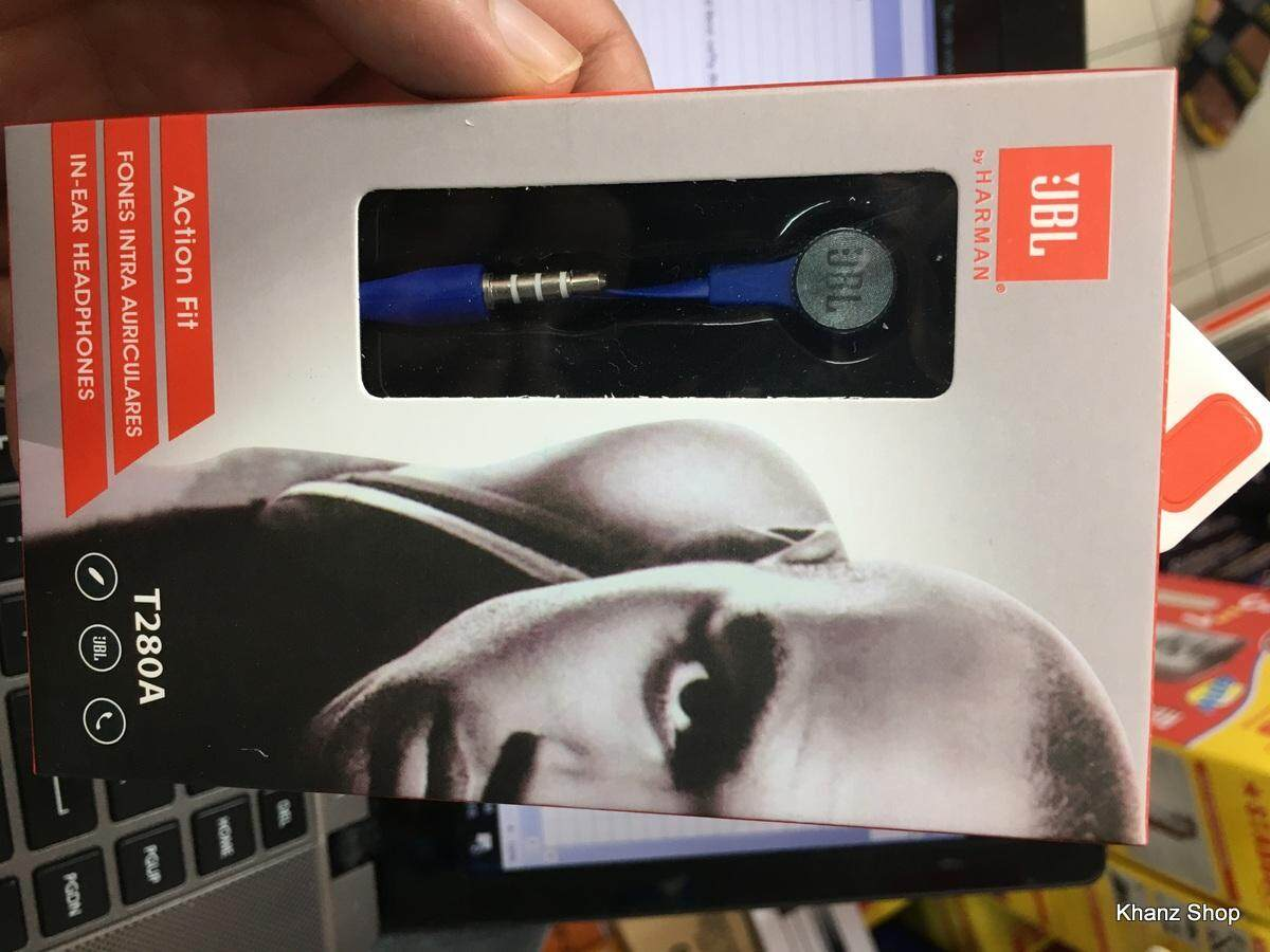 JBL T280A In-Ear Headphones with Mic