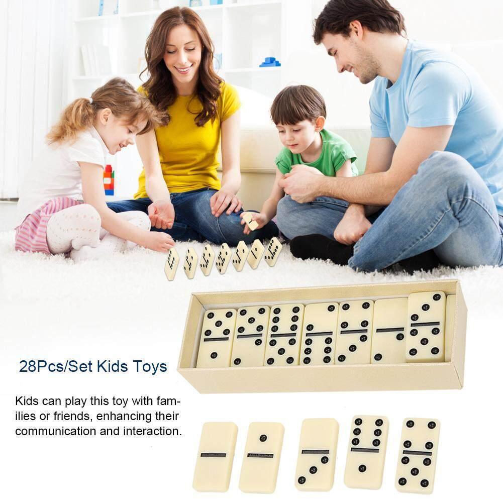 28 ชิ้น/เซ็ต Diy ของเล่นบล็อกไม้เด็ก Educationabl ชุดของเล่นกระดานโต้ตอบเกม By Cherishone.
