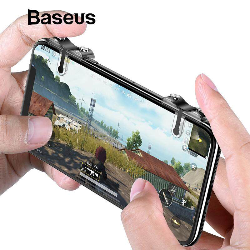 Baseus For Android IOS Phone Button Aim Key Buttons L1 R1 Cell Phone Game Controller PUBG