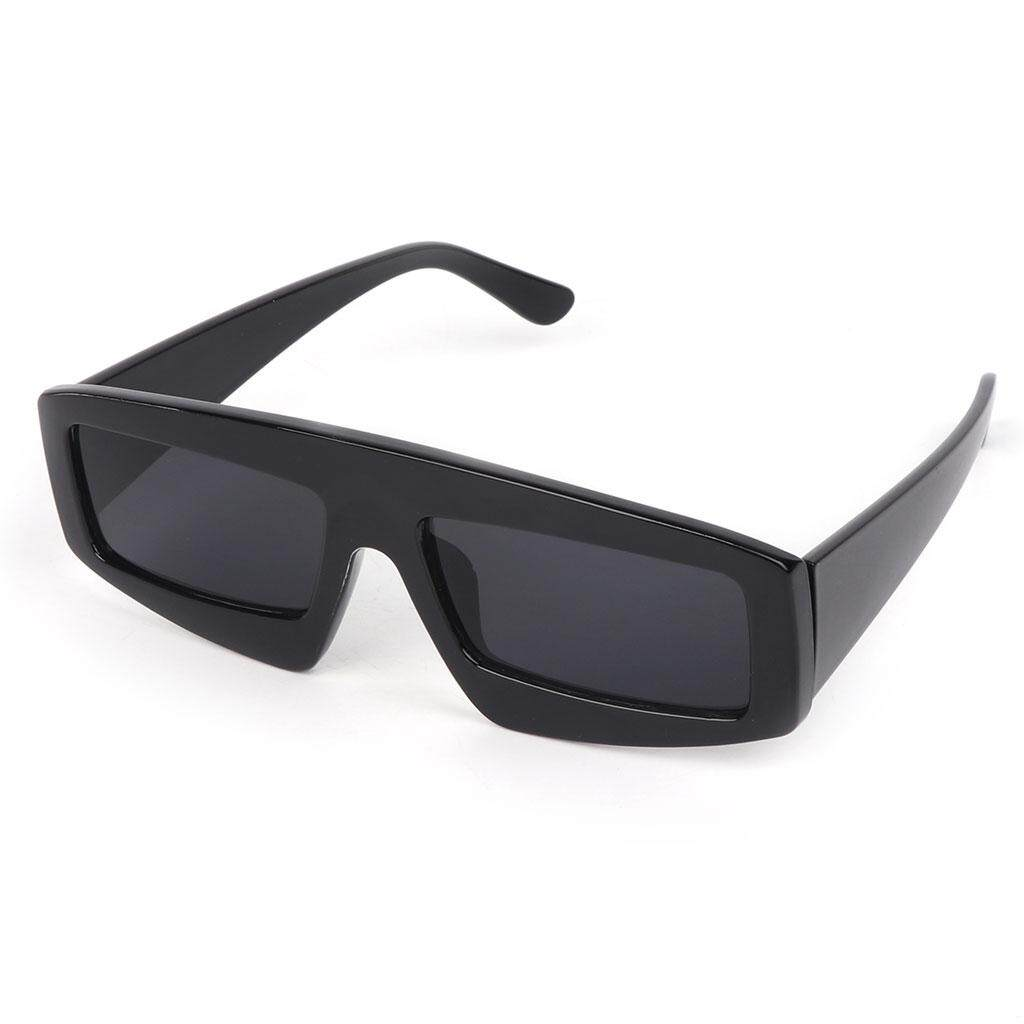 Hot Sale Sunglasses Retro Fashion Brand Designer Lens Shades Square Wide  UV400 36ceefc419