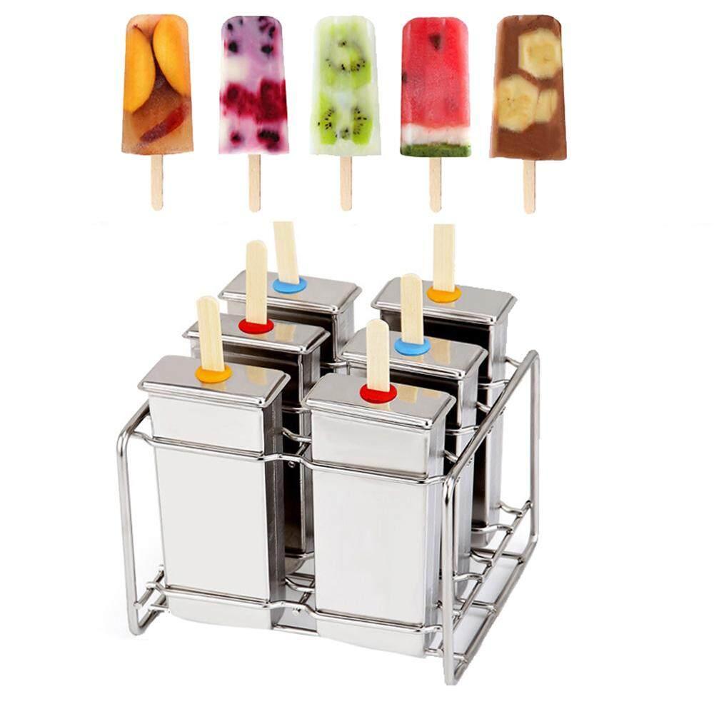 Mesin Ice Cream Buah Dessert Bullet Daftar Harga Terbaru Dan Oxone Fruit Maker Ox 873 Alat Pembuat Womdee 6 Pcs Stainless Steel Popsicle Lolly Pop Mold Mould With