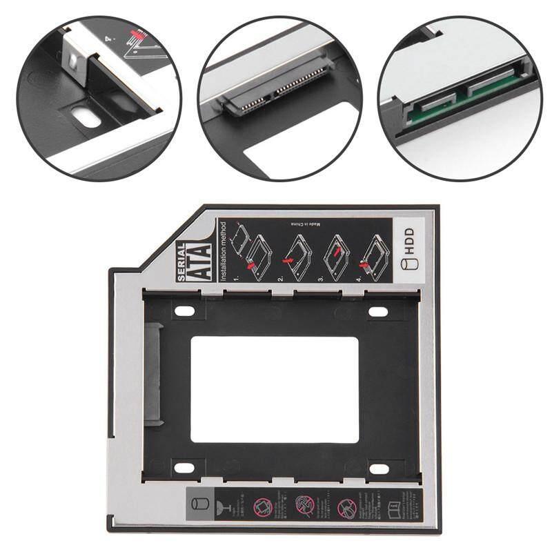 Bảng giá Bán Hàng lớn 9.5/12.7mm SATA 2nd HDD SSD Caddy Adapter dành cho DVD-ROM CD-ROM HDD SATA 3 SDD Cứng Chân Đế Phong Vũ