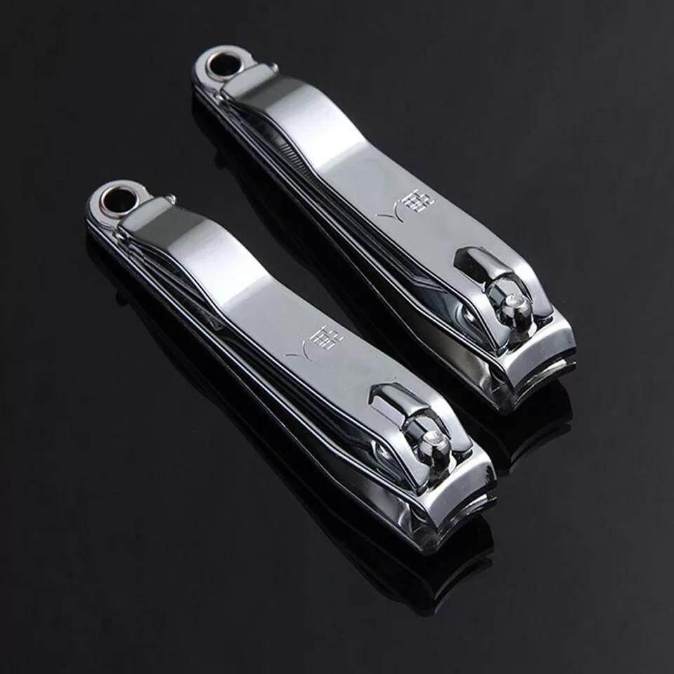 Fitur 3pcs 555r Gunting Kuku Besar Panjang 8cm Anti Karat Nail Toe Clipper Cutter Trimmer Scissor Manicure Pedicure Stainless Steel Pengetip Pemotong 4