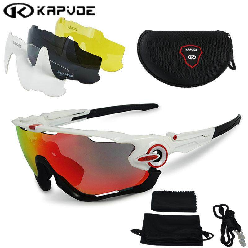 097a2c9917 2017 Polarized Cycling sunglasses Cycling glasses Bicycle Running Fishing  sport Sunglasses bicicleta Gafas ciclismo 4pcs Lens