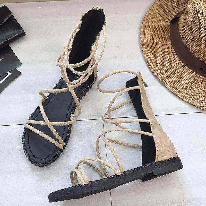 5316da19c New Gladiator Sandals Women Shoes 2018 Roman Sandals Shoes Women Sandals  Flat Shoes Woman Sandalias Mujer