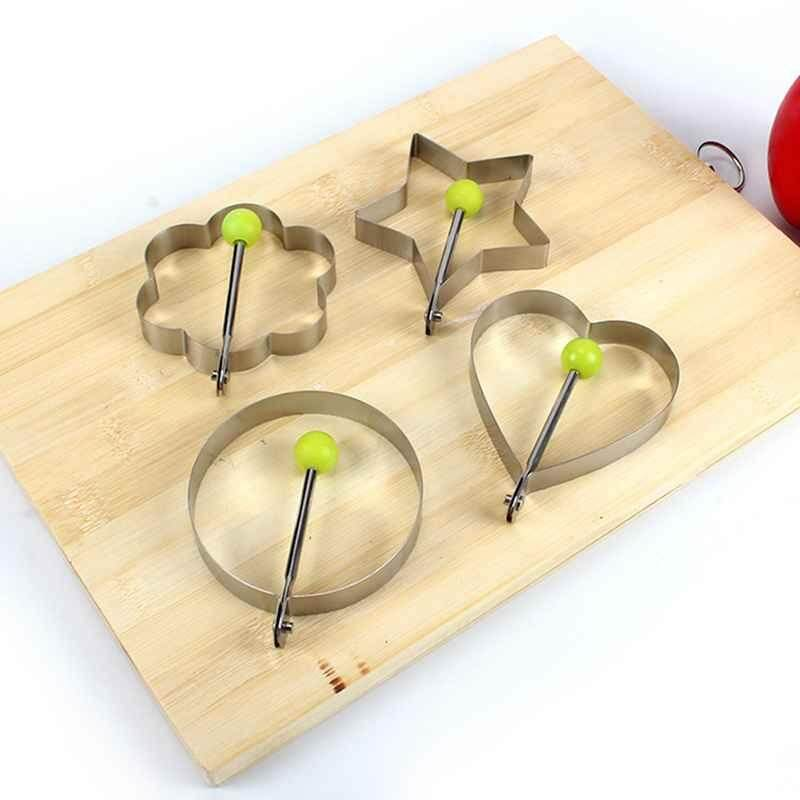 【dongxi】2018 New Hot Selling Limited Time Special Attractive And Durable Utility Stainless Steel Fried Egg Shaper Ring Pancake Mould Useful Kitchen Tools.