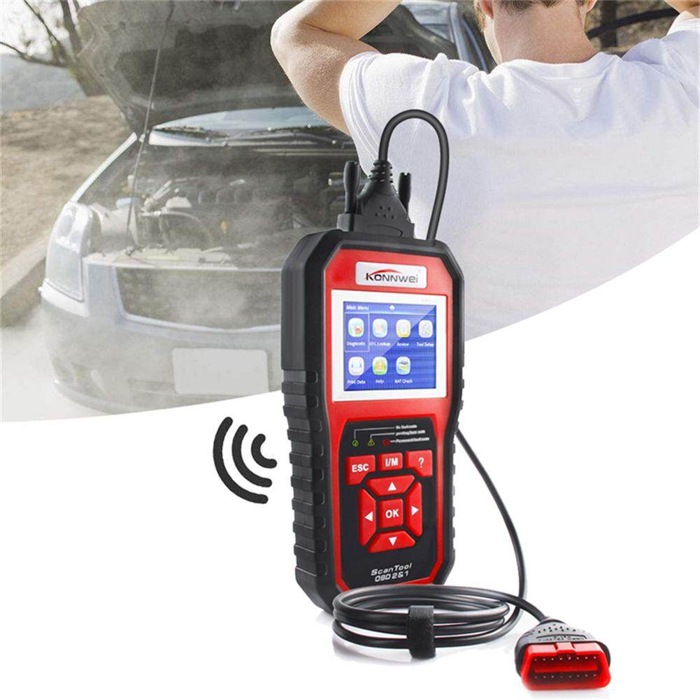 Konnwei Kw850 Obd2 Eobd Car Motor Default Diagnosis Instrument Code Readers & Scan Tools With Eight Languages By Storeshop.