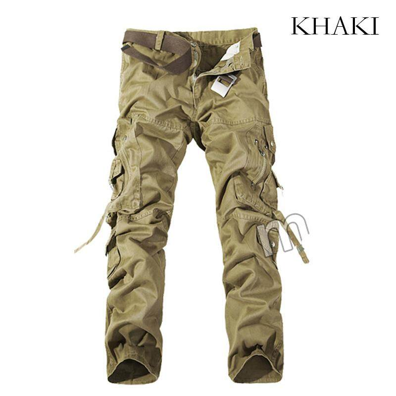 24e6e6445163 Spring Summer Men Cargo Pants Outdoor Hiking Long Trousers Military  Tactical Pants Large Plus Size Casual
