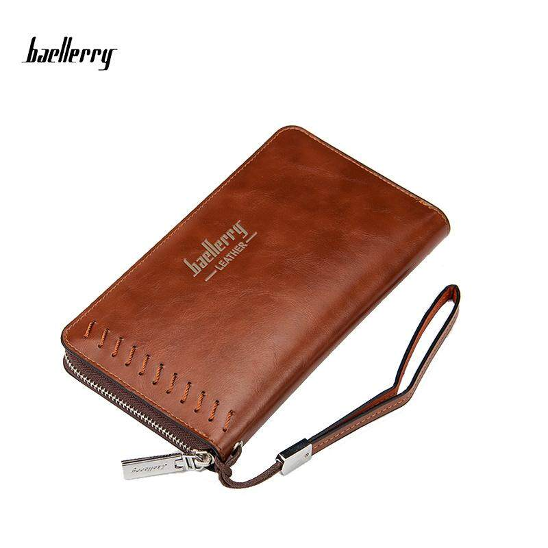 Baellerry WLT-135 ZX-W007 New Antique Big Space Long Men Wallet