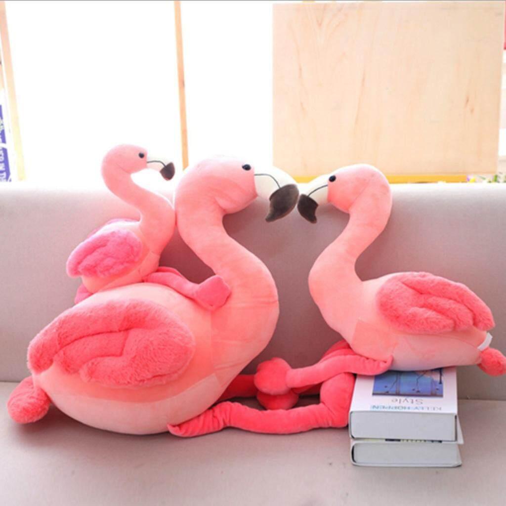 Stuffed Pink Flamingo Animal Plush Throw Pillow Hugging Kids Dolls Toys 25cm