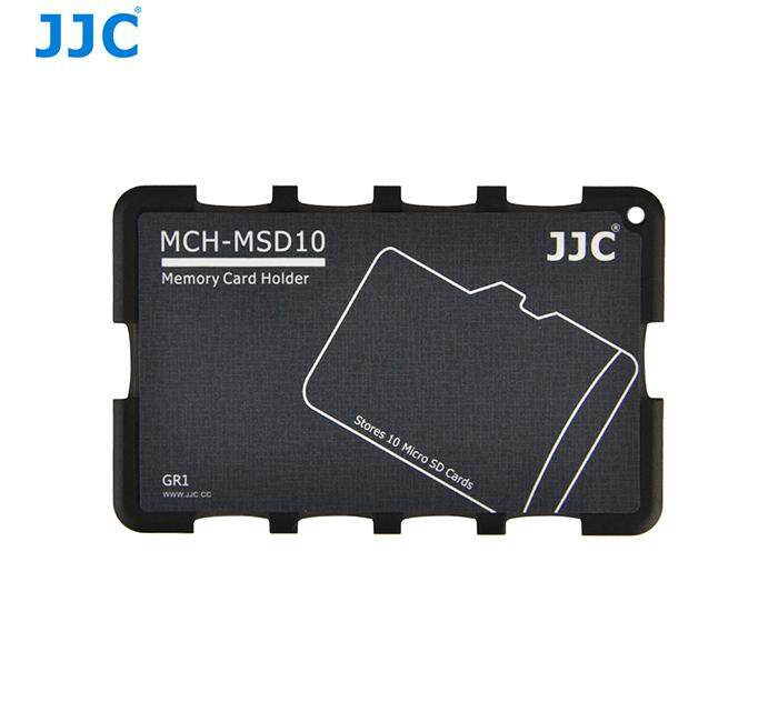 JJC MCH-MSD10GR Pocket Memory Card Holders Fits Micro SD Memory Card