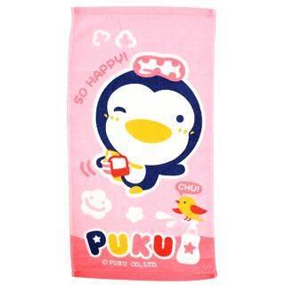 Puku Baby Bath Towel 45*30cm (Pink)