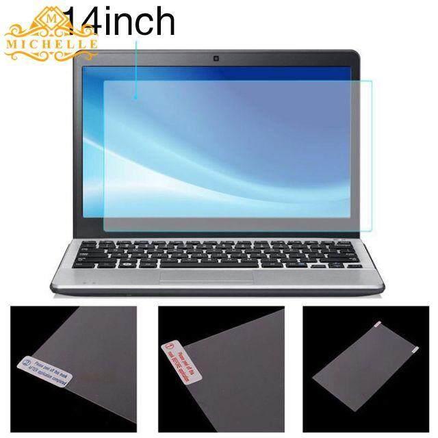 Notebook Stiker Film Pelindung Laptop Tahan Lama Jelas 14 Inch Transparan