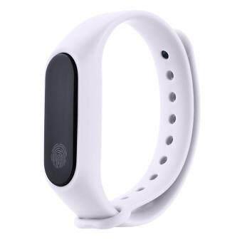 Pencarian Termurah AJKOY M2 Smart Bracelet Waterproof Sports Bluetooth Touch Screen Heart Rate Monitor Health Monitors Fitness Smart Bracelet harga ...