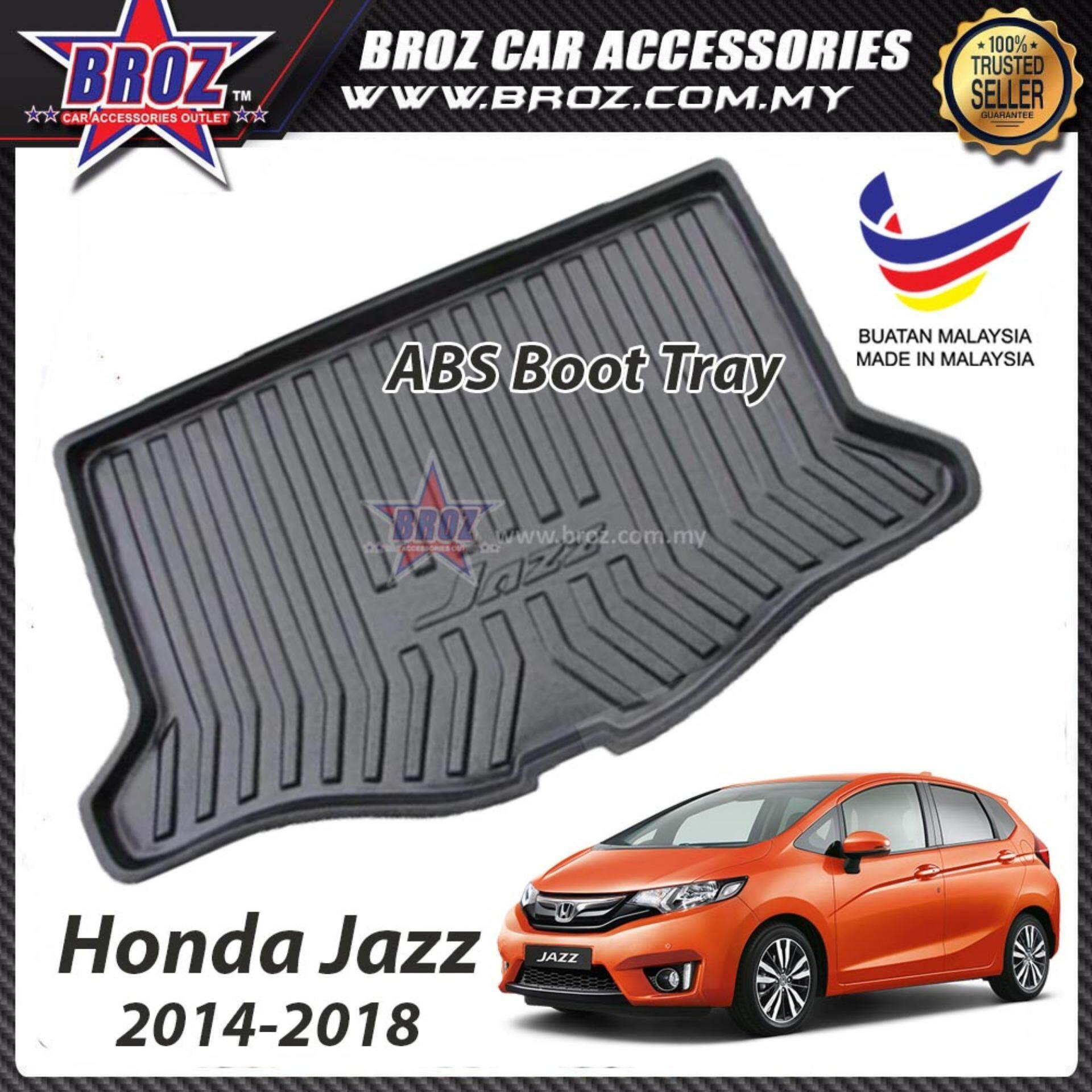 Honda Jazz 2014-2018 ABS Car Rear Boot Trunk Tray