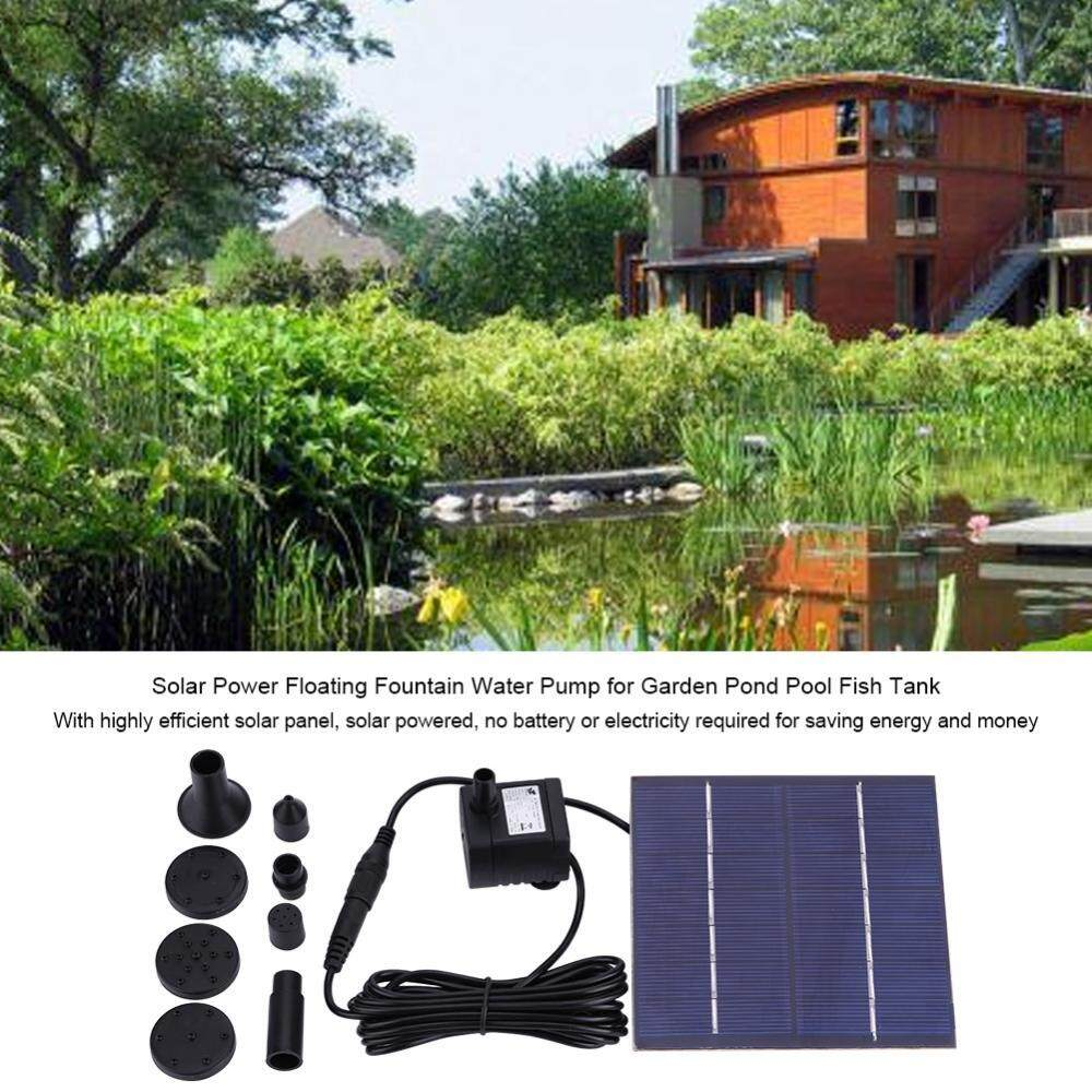 Watering & Irrigation 1pc Garden Solar Fountain Pond Pump Floating Fountain Pump For Pool Garden
