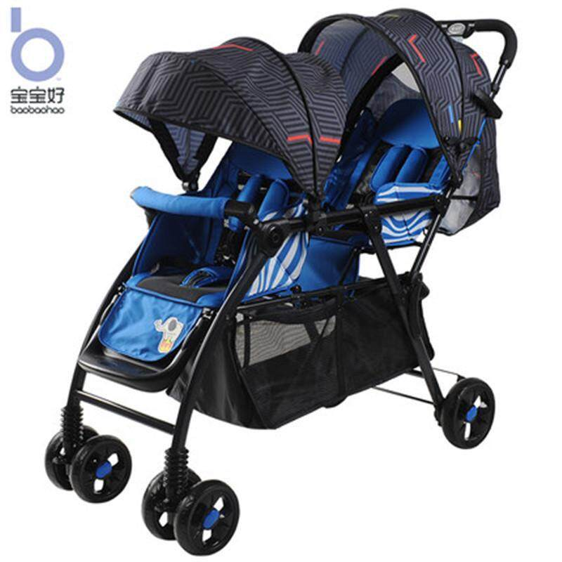 Twins Baby Stroller Sitting Stroller Two Seat Twins Stroller Double Seat Baby Buggy Carriage Singapore