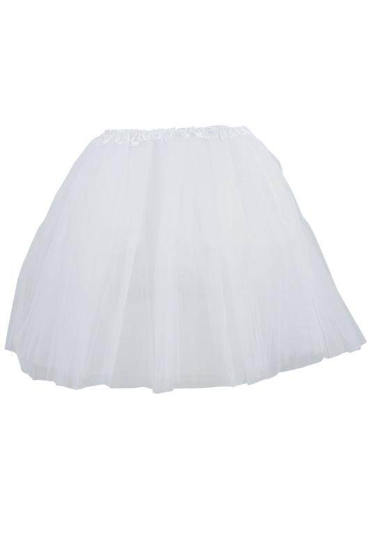 Women/adult Organza Dance Wear Tutu Ballet Pettiskirt Princess Party Skirt White By Shakeshake.