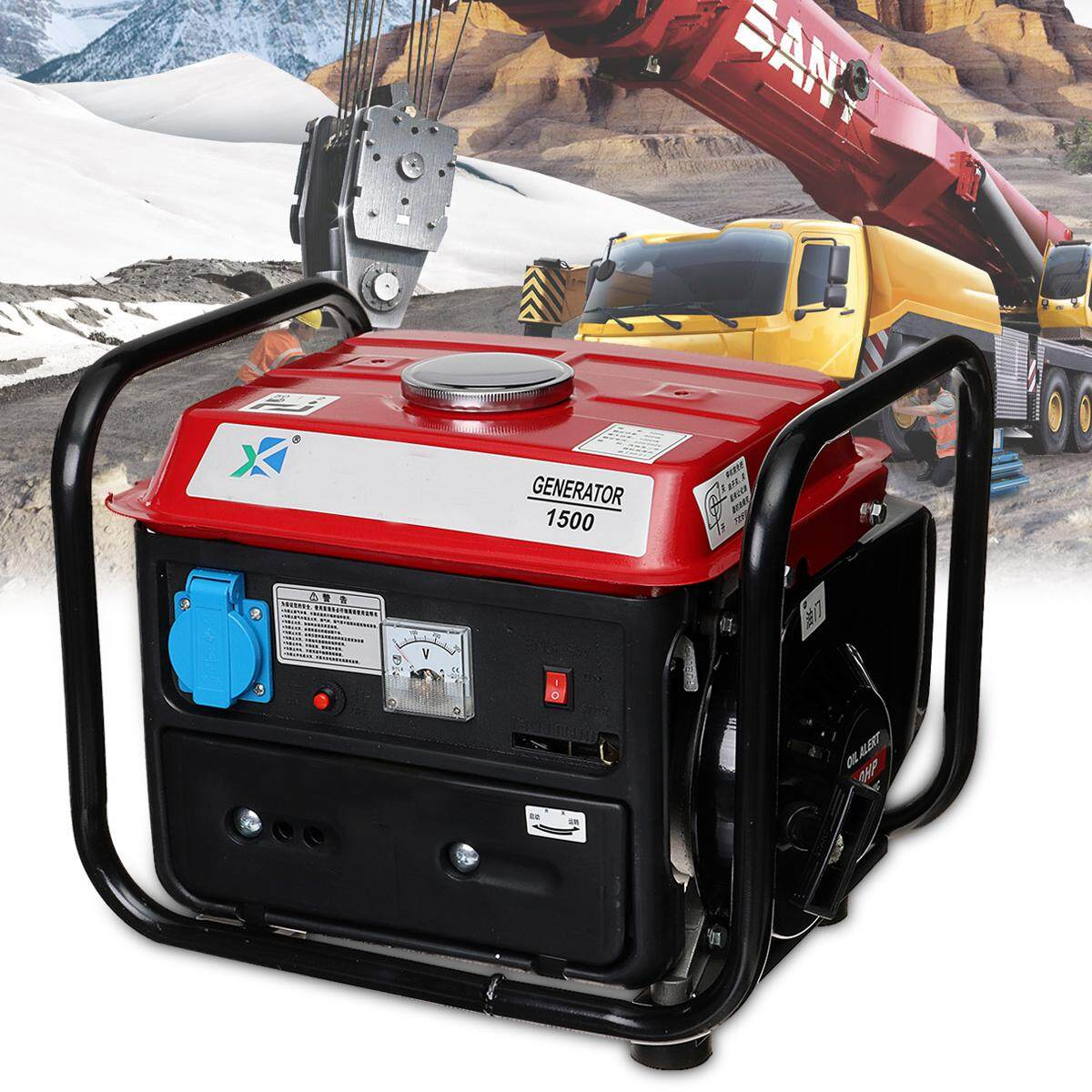 Portable Gas Inverter Generator Emergency Outdoor Home Back Up Power Tailgating - Intl By Audew.