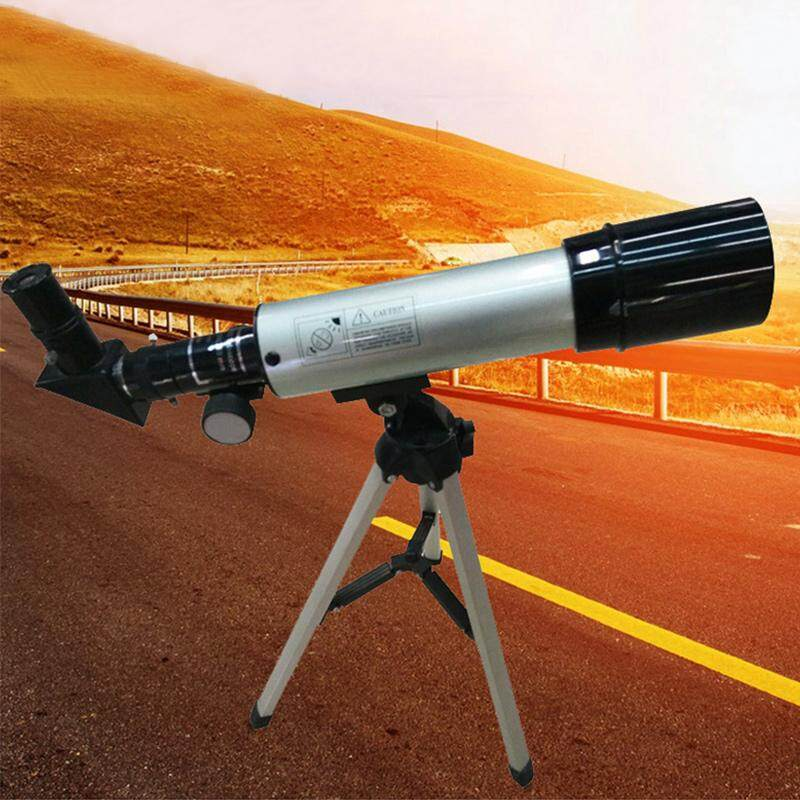 Vishine Mall free shipping F36050M Outdoor Small Astronomical Monocular Telescope With Tripod Eyepiece