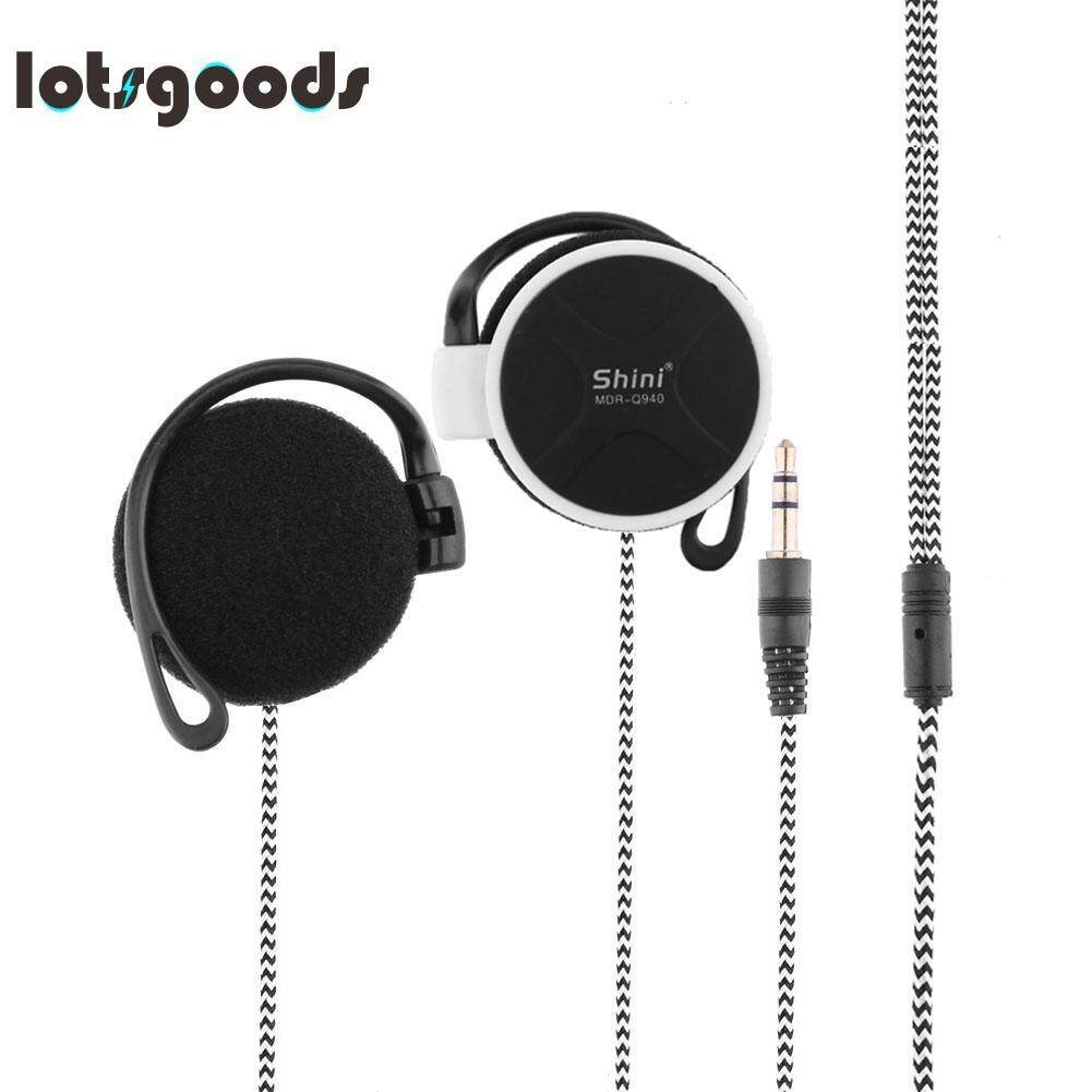 MDR-Q940 Universal 3.5mm Stereo MP4 Headphone Earhook Earphone(White)
