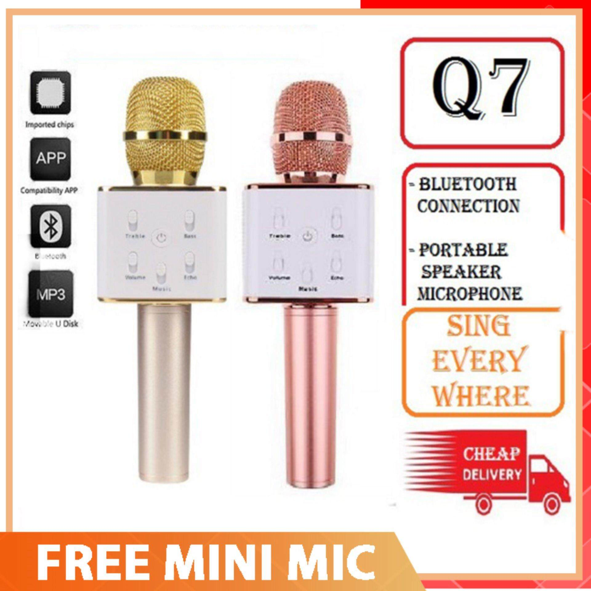 Cek Harga Micgeek Q9 Bluetooth Microphone Terbaru Malaysian Ktv Wireless With Speaker Q7 Karaoke Only Rm49 Rm 54