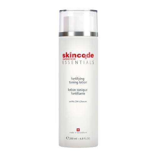 Skincode Switzerland Essentials Fortifying Toning Lotion (200ml) + FREE GIFT WORTH RM 15