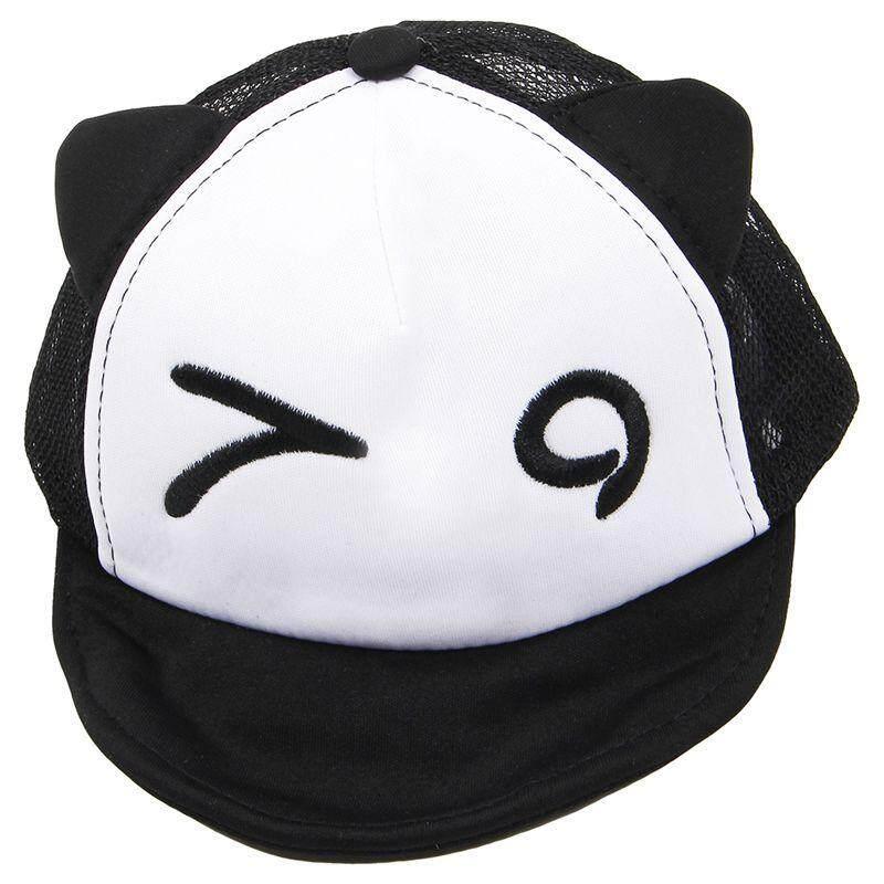 ... Topi Sopir Truk Pria Wanita Moto Gp Source · Black Children Hat Summer Mesh Soft Brim Flanging Sun hat Baseball Cap